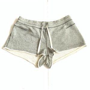 Lululemon Terry Cloth Grey Shorts